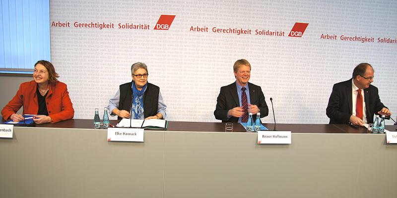 DGB-Vorstangsmitglied Stefan Körzell