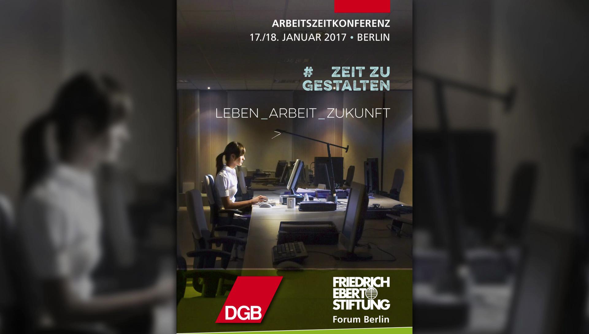 Vidoe von der Konferenz zur Arbeitszeit LEBEN_ARBEIT_ZUKUNFT - #ZEITZUGESTALTEN