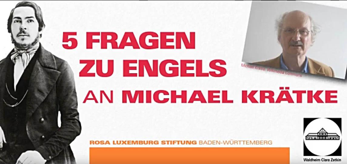 5 Fragen zu Engels an Prof. Michael Krätke