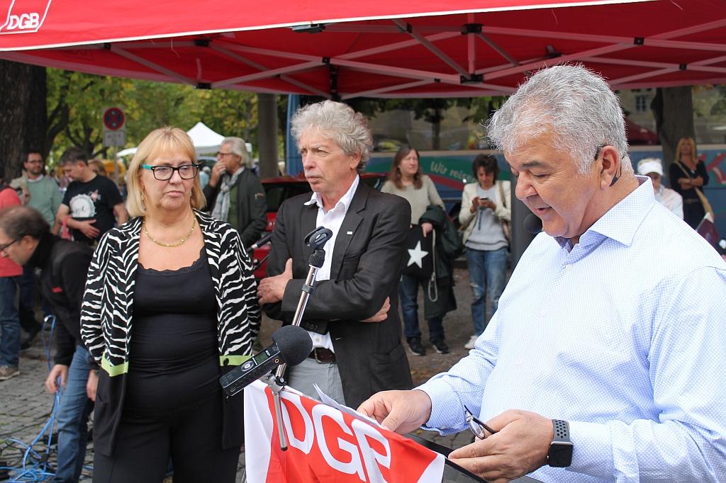 Antikriegstag 2018 Stuttgart - Ansprache von Gökay Sofuoglu