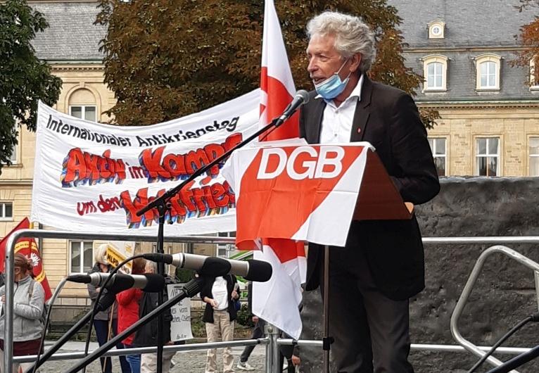 Ansprache von Philipp Vollrath Antikriegstag 2020 in Stuttgart
