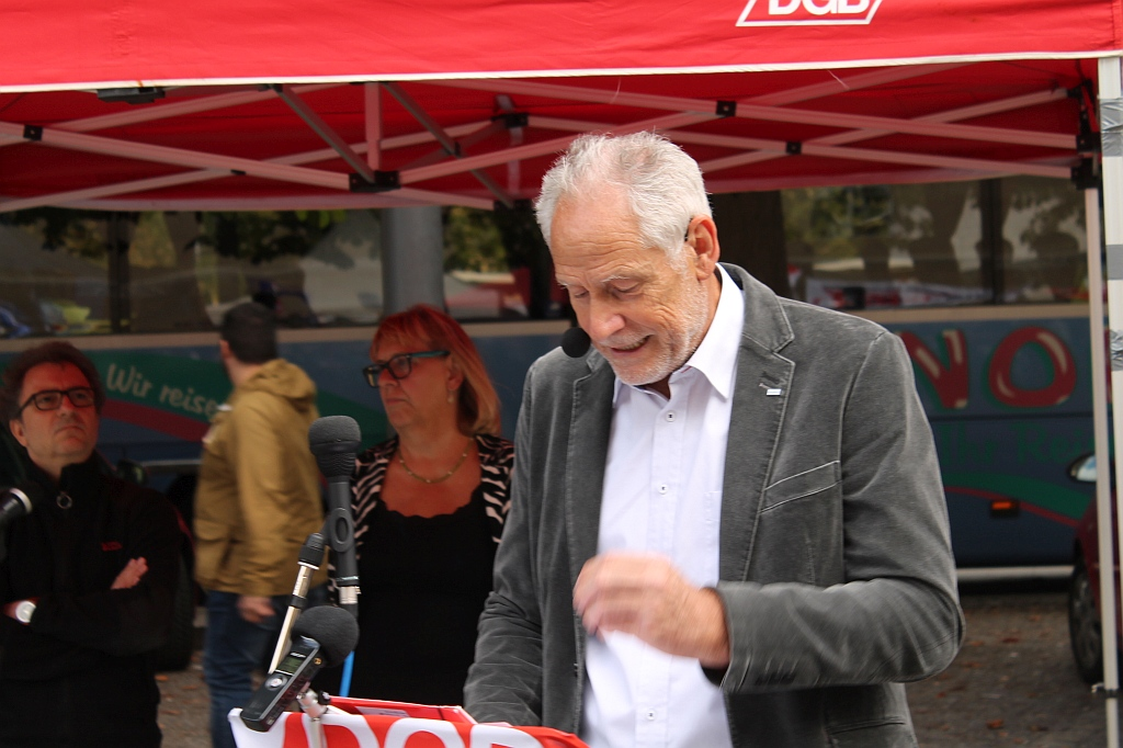 Antikriegstag 2018 Stuttgart - Rede von Martin Kunzmann