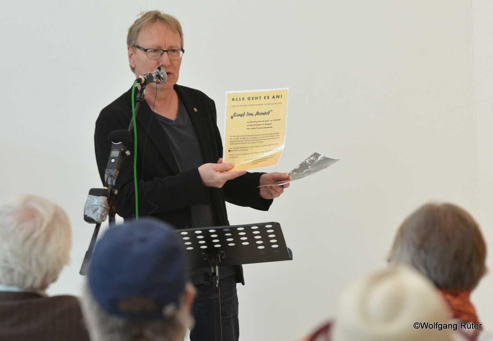 Ausstellungseröffnung Rede Jörg Munder für den DGB