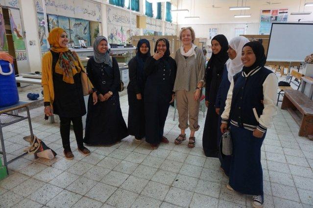 Ausbildung in Luxor, Ägypten