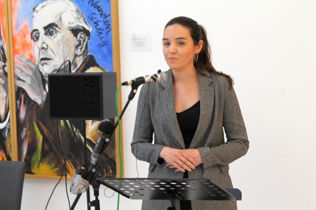 Ausstellungseröffnung Rede Leonie Wanner