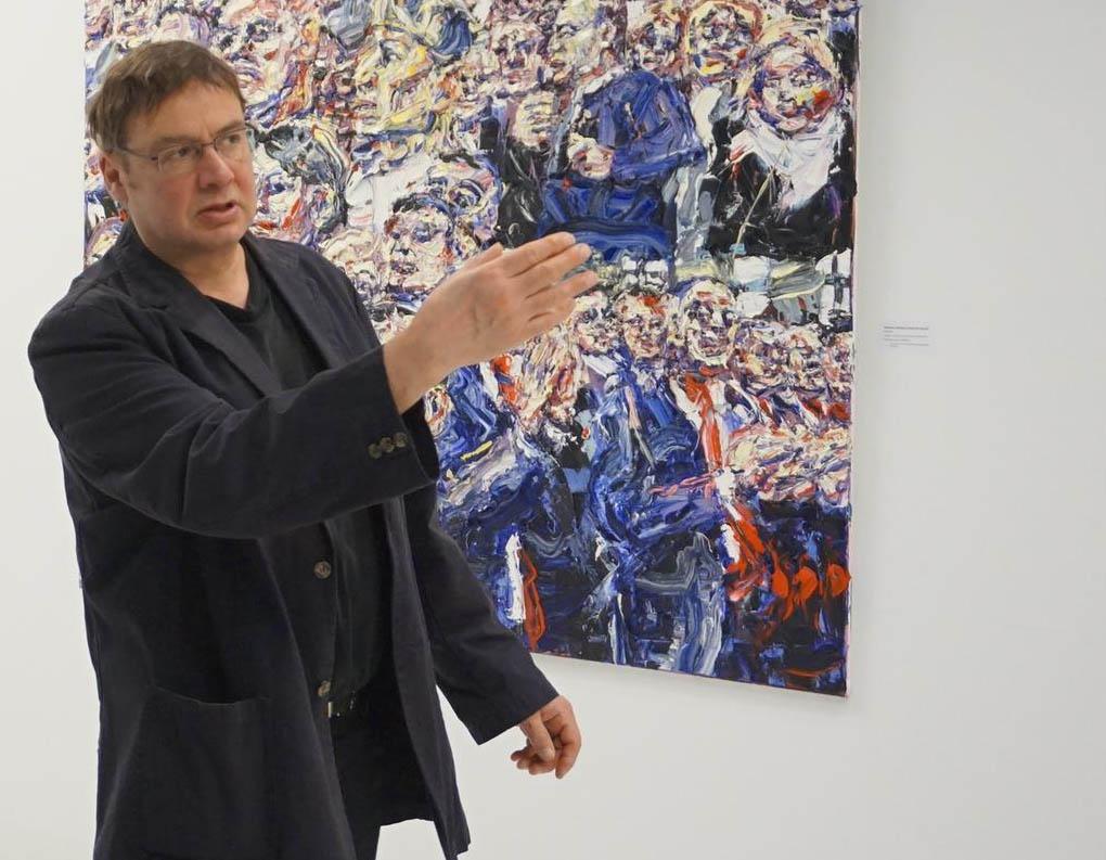 Kassandrarufe - Im Gespräch mit dem Künstler Harald Kille zur Ausstellung