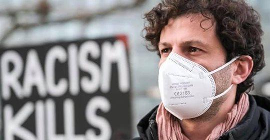 """""""Ich bin Antifaschist*in"""" mit Luigi Pantisano, Stadtrat in Stuttgart"""