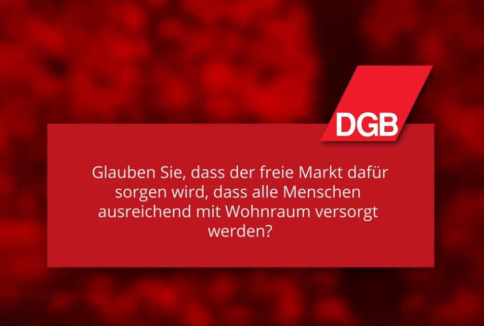 Landtagswahl 2021 BW - Freier Markt für Wohnraum?