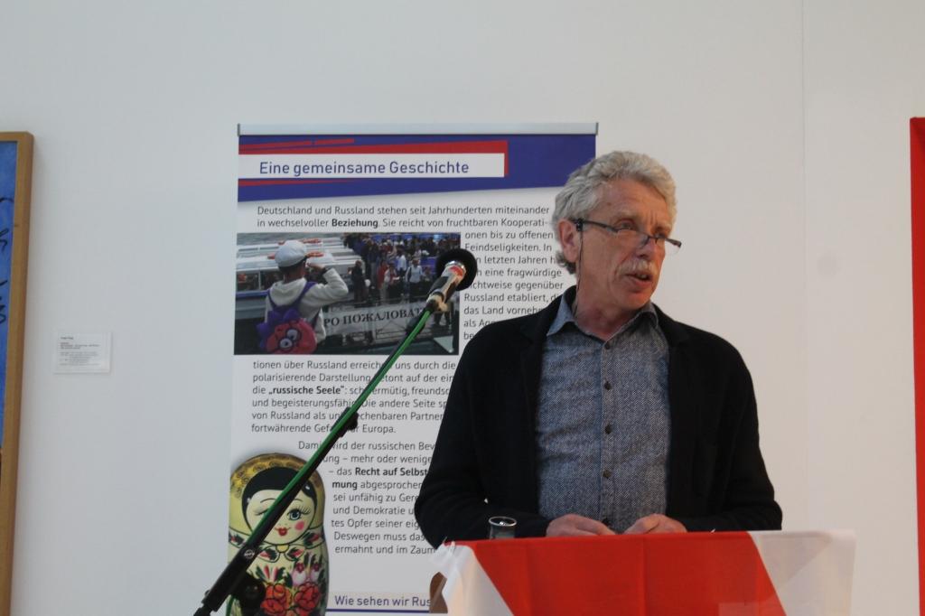 Rede Philipp Vollrath zur Ausstellung Meinst du, die Russen wollen Krieg