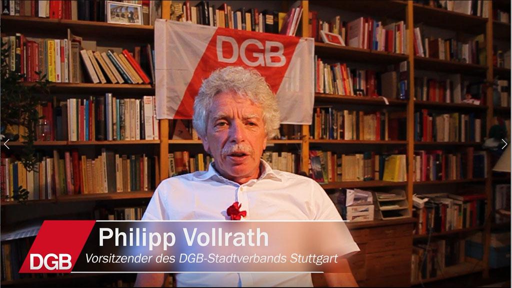 1. Mai Grußwort Philipp Vollrath