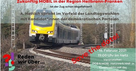 Zukünftig Mobil in der Region Heilbronn-Franken