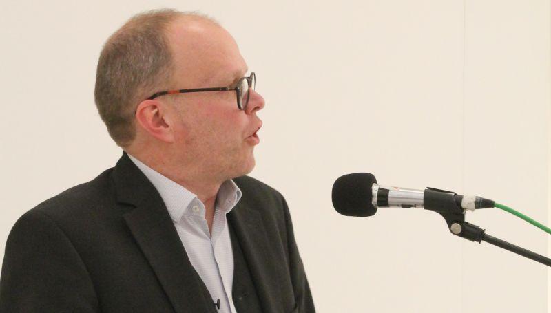 Vermissage friendly fire - Einführung durch den Kunsthistoriker Clemens Ottnad